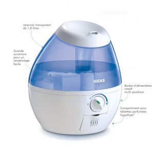 Vicks VUL520E4 Cool Mist Mini